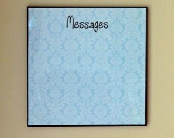 Decorative Wipe off Message Board