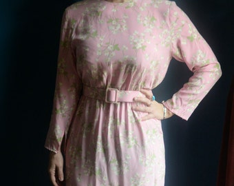 Medium - Beautiful LIHLI of Saks Fifth Ave Silk Dress