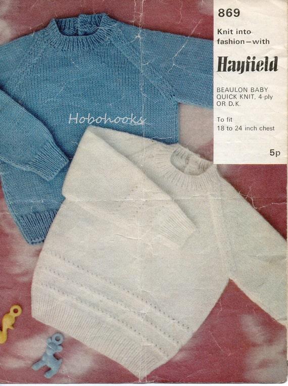 Knitting Pattern For Round Neck Jumper : baby sweater knitting pattern baby jumpers round neck by Minihobo