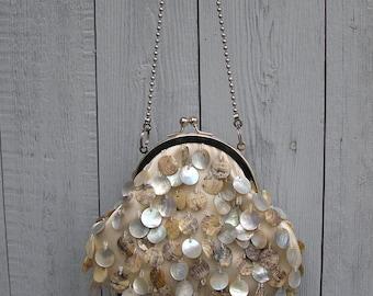 Bag clutch, Purse, vanilla color