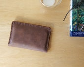 leather travelers wallet