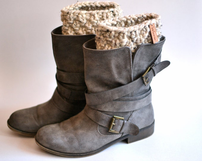 Boot Cuffs // Chunky Knit Boot Cuffs // Knitted Boot Cuffs // Knitted Boot Warmers // Boot Warmers // Chunky Boot Cuffs // Knit Boot Cuffs