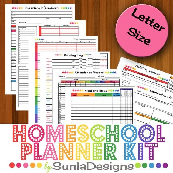 2016-17 Homeschool Planner Homeschool Lesson Planner Home