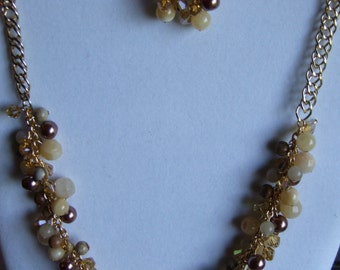 Gemstone cluster set 0335NK
