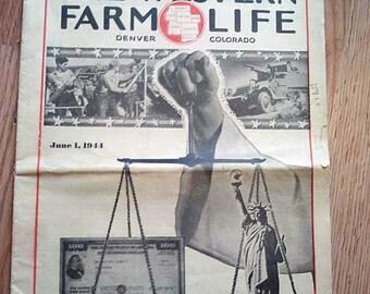 The Western Farm Life Magazine June 1, 1944