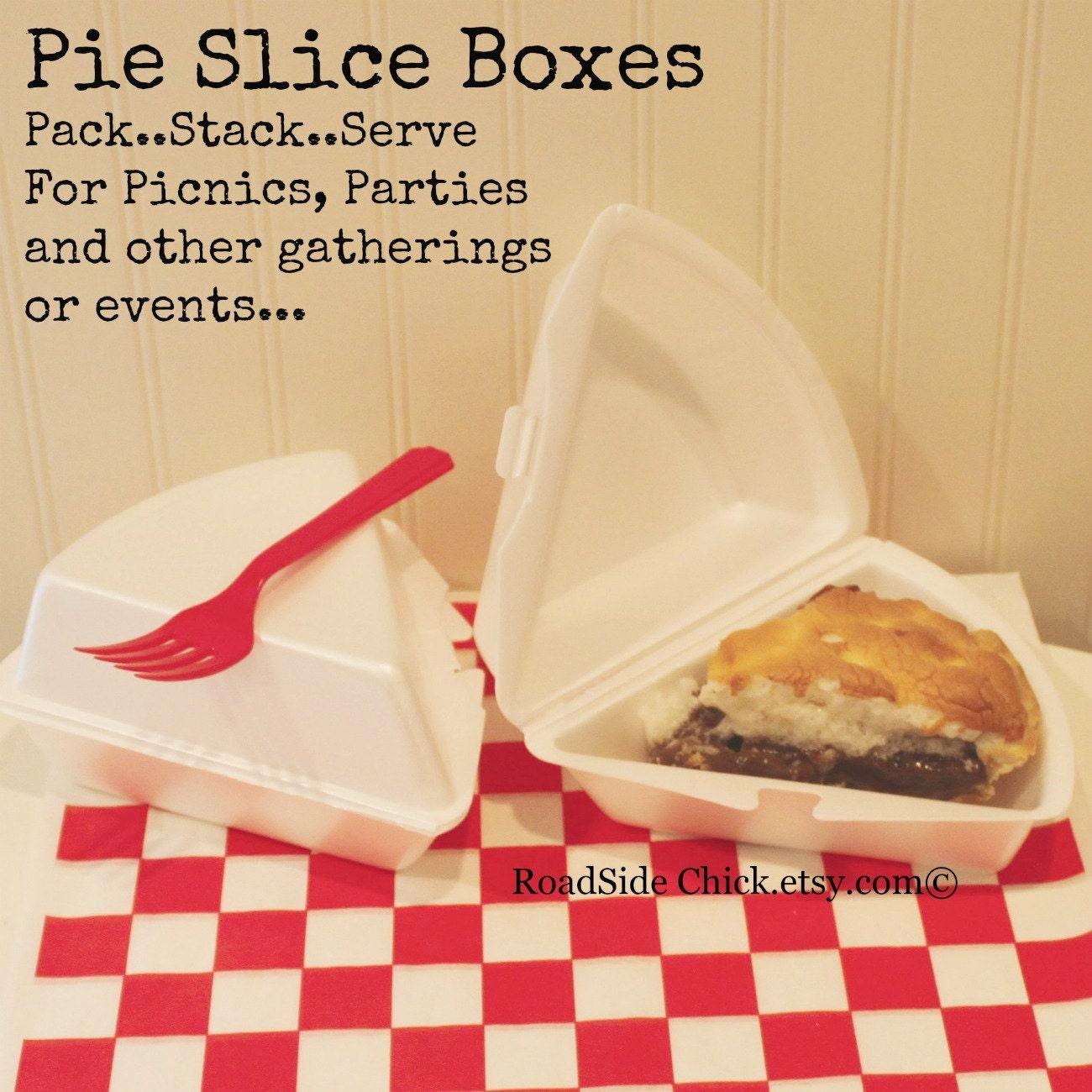 Cardboard Pie Slice Boxes Pie Slice Box 10 Pie Slice