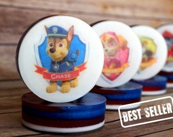 Kids Soap - Paw Patrol - Paw Patrol Birthday Party Favors - Kids Bath - Soap Favors for kids