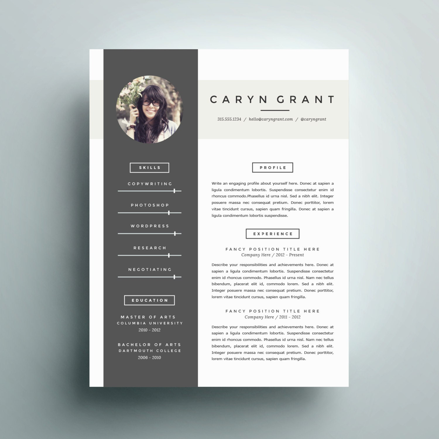 best ideas about Functional Resume on Pinterest
