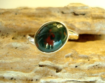 "Bloodstone Ring ""Made to Order"""