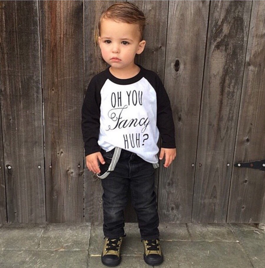 Oh You Fancy Kids Tee Baby Clothes Kids Graphic Tee Toddler