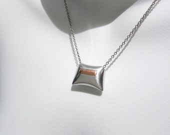 Statement Necklace – Statement Jewelry – Modern Metal Necklace – Contemporary Jewelry Design – Modern Jewelry
