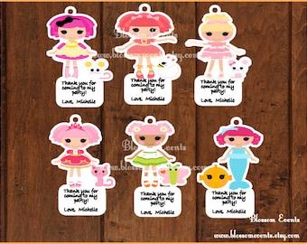 La la dolls tags