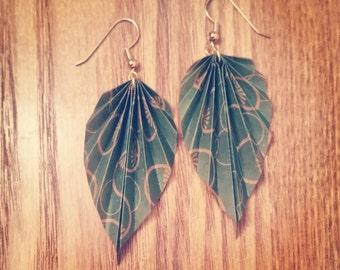 Marqué Origami® Leaf Earrings