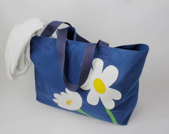 Beach bag XXL (navy blue)