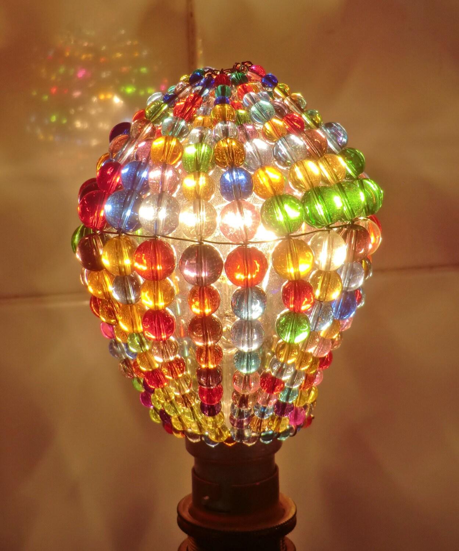 Crystal Chandelier Inspired Glass Lightbulb Gls Newton