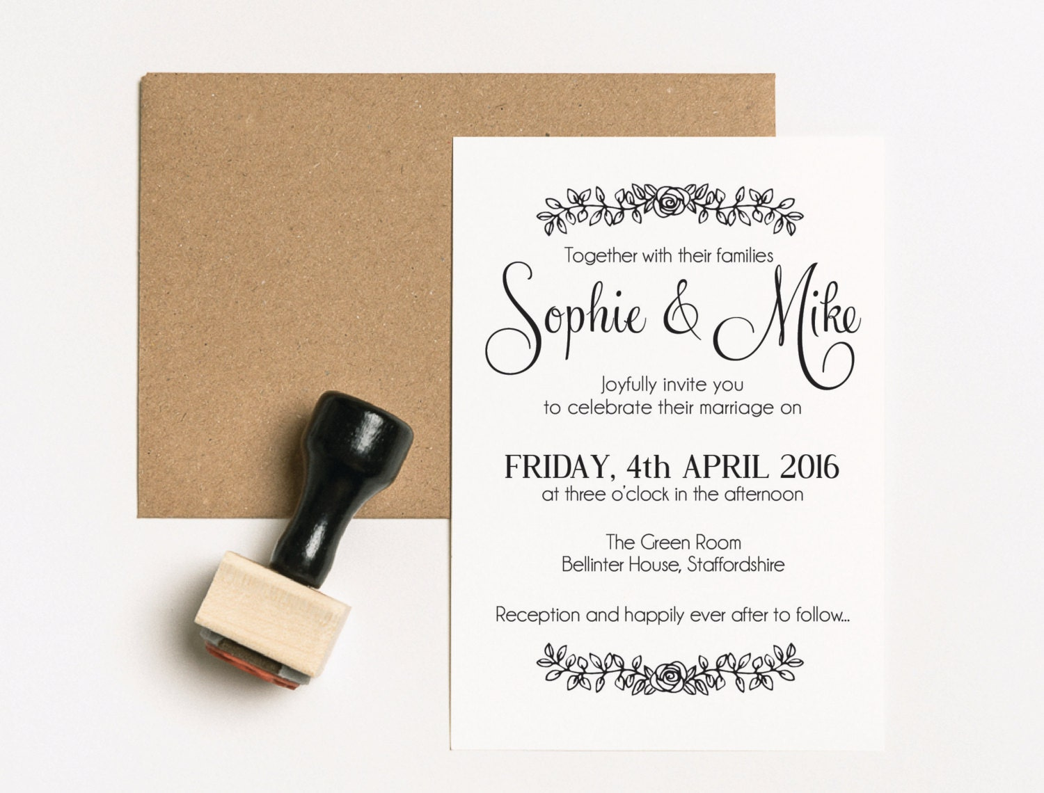 Stamps For Wedding Invitations: Wedding Invitation Suite Wedding Invitation Stamp Set Save