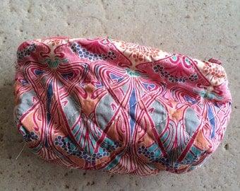 Tiny Vintage Liberty Cosmetic Bag