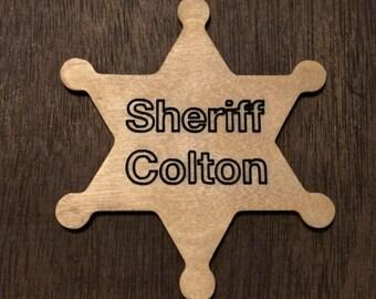 Customizable Sheriff Badge
