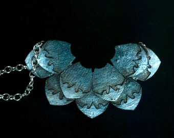 Green Dragon Scales, Necklace