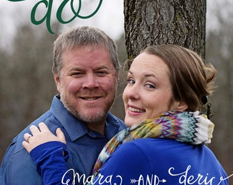 Save the Date Photo Postcard or Magnet or Card We Do