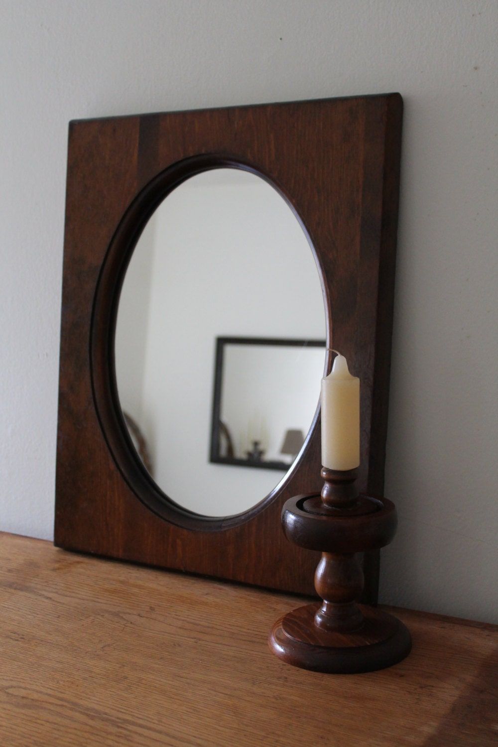 Rustic Wood Mirror Rustic Home Decor Country by