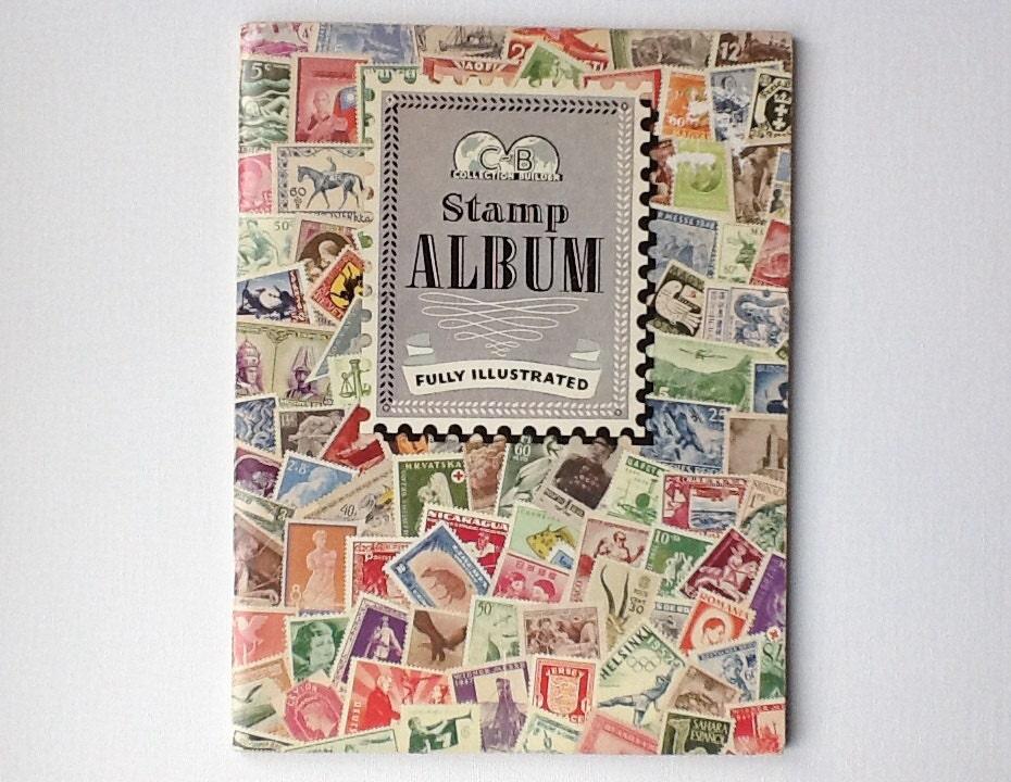 how to make a stamp album
