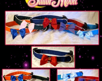 Sailor Moon pet collars