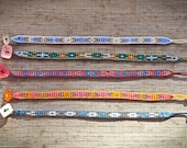 Woven beaded bracelets 'Inspiration Indian'