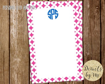 Personalized Notepads, To Do List, Monogram Notepad, Gift