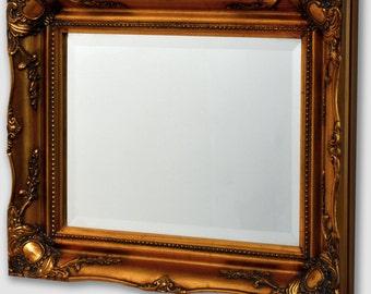 Antique Mirror 445 x 546 mm (17.5 x 21.5 Inches)