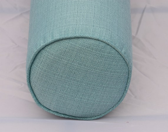 8x30 Round Bolster Pillow Cover And Insert 8 Round X