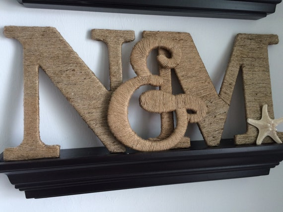 5 inch wooden letters 9 5 inch wood letters wrapped in twine gift for 20222 | il 570xN.762173155 b6ji