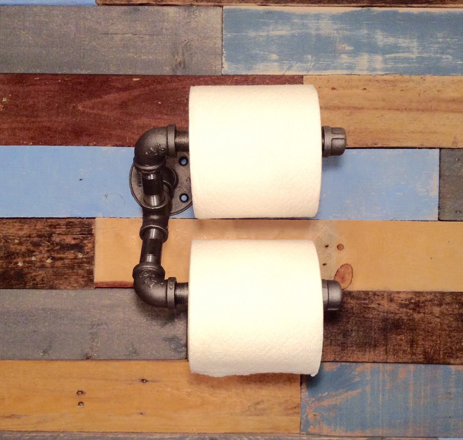 Man Cave Toilet Paper Holder : Industrial toilet paper holder decor man cave