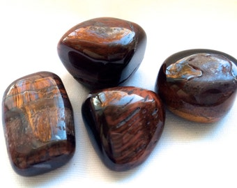 Tumbled Red Tiger Eye from Africa