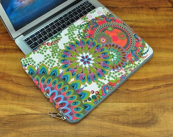 13 inch Macbook air case / Macbook pro 13 case / Macbook 13 cover / Laptop sleeve / padded with pockets-CF100