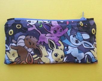 Pokemon Eeveelution Zipper Pouch/Pencil Case