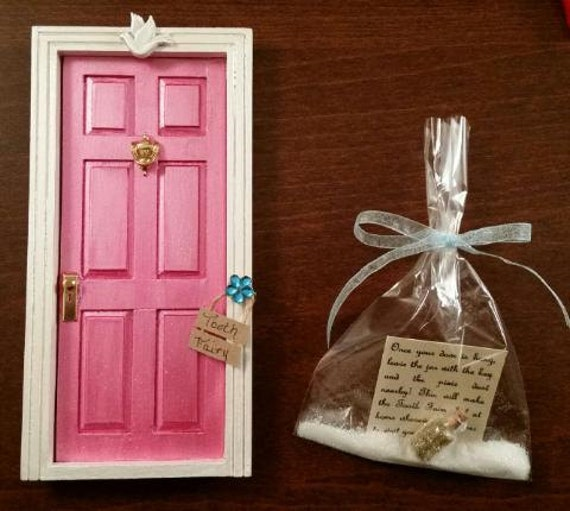 Tooth fairy door fairy door by thecraftconnoisseur on etsy for Original fairy door