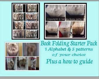 Book Folding Starter Package