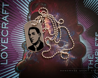 Lovecraft dog tag