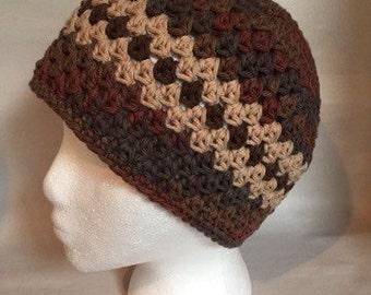 Crochet Adult Beanie Hat