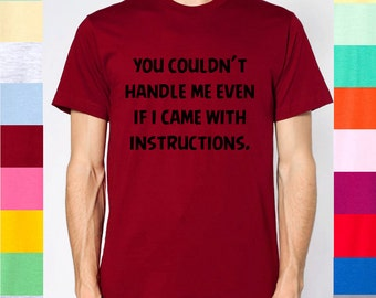 even if i came with instructions