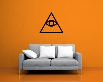 Eye of Providence Vinyl Decal Sticker