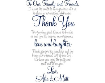 ... Note, Wedding Welcome, Thank You Letter, Wedding Welcome Gift, Welcome