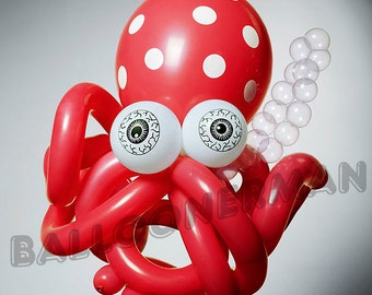 Balloon Octopus (photograph for kid's room) Buster Balloon
