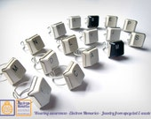 Join the Key Revenge - Rings from upcycled keyboards -