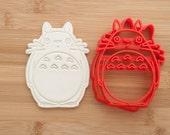 My Neighbor Totoro.  Cookie cutters. Totoro Cookie cutters. cookies. Totoro.