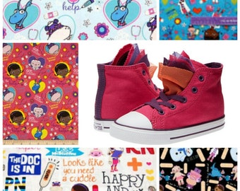 Doc Mcstuffins Converse Shoes