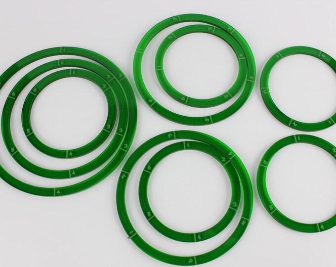 Green - War Machine Blast/Deviation Ring Pack
