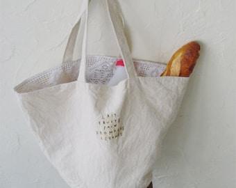 LINNET Pattern /No.33 marche Bag