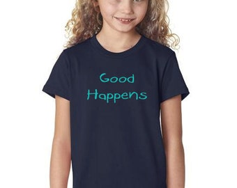 Youth Short Sleeve Good Happens Tee
